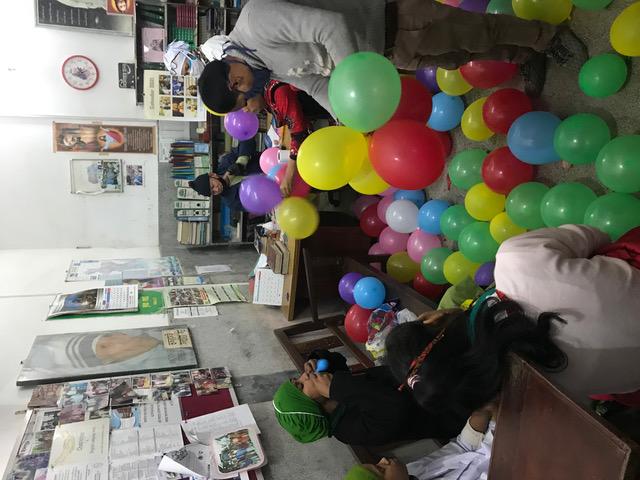 Ballonnen opblazen
